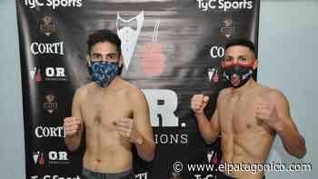 Ayrton Giménez y Alan Luques Castillo cumplen con el peso - El Patagonico