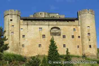 Los ciervos se acercan a 'conocer' en persona el castillo de Puebla de Sanabria - Zamora 24 Horas
