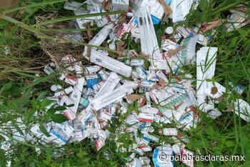 Hallan medicamentos abandonados en El Castillo   PalabrasClaras.mx - PalabrasClaras.mx