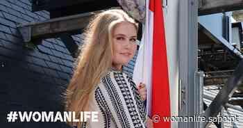 Amalia da Holanda junta-se à tendência das jovens da realeza, os vestidos bordados - Diário Digital