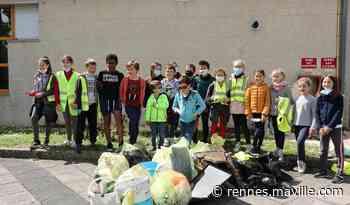 Guichen. Les écoliers de Charcot ont collecté des déchets très spéciaux samedi - maville.com