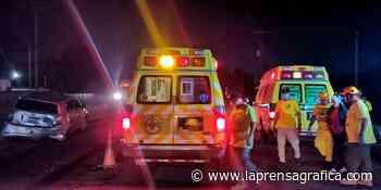 Cuerpos de socorro atienden diferentes accidentes de tránsito - La Prensa Grafica