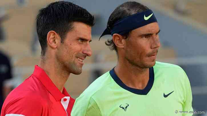French Open 2021 - Where does the latest Novak Djokovic-Rafael Nadal thriller rank in the all-time rivalry? - ESPN