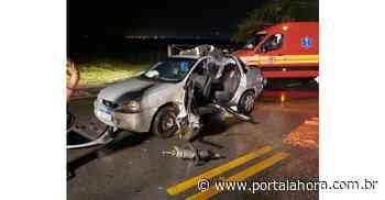 Garopaba: Mulher fica presa às ferragens após sofrer grave acidente na rodovia SC-434 - Portal AHora
