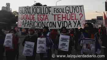 Movilización en Lomas de Zamora por la aparición con vida de Tehuel De la Torre - La Izquierda Diario