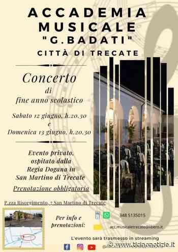 Trecate, stasera e domani concerto di fine anno scolastico dell'Accademia 'Badati' - Ticino Notizie