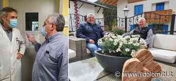 Si ammala di Covid a Bergamo e viene curato a Rovereto: Fabio Cancelli torna in Trentino per ringraziare il dottore che l'ha salvato (VIDEO) - il Dolomiti