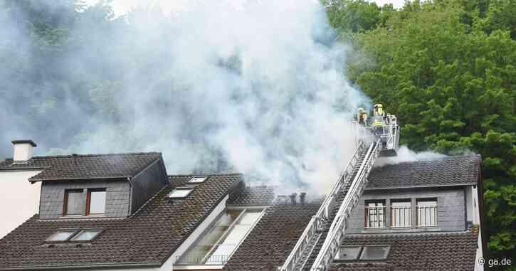 Feuer in Bad Neuenahr-Ahrweiler: Königsfelder Straße gesperrt - ga.de