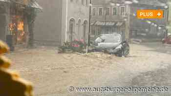 Unwetter: Wie gut ist Augsburg auf Starkregen vorbereitet? - Augsburger Allgemeine