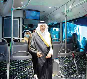 Makkah governor inaugurates prototype of new public transport system - Arab News