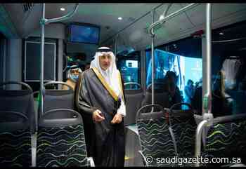 Prince Khalid inaugurates prototype of a new public transport system in Makkah - Saudi Gazette