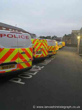 Chorley: Police report busy night with wide range of incidents