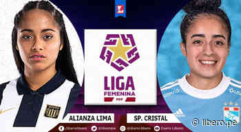 Alianza Lima vs Sporting Cristal EN VIVO: horarios, tv y dónde ver Liga Femenina de Perú - Libero.pe