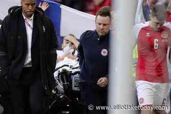 Eriksen taken to hospital after collapsing at Euro 2020 - ElliotLakeToday.com