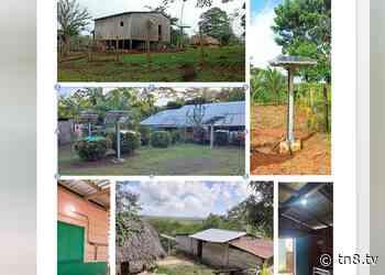 Energía eléctrica por medio de paneles solares llega a Río San Juan - TN8 Nicaragua