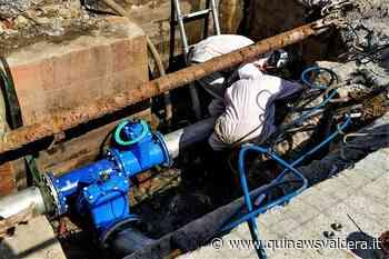 Interventi sulla rete idrica - Qui News Valdera