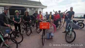 Brighton city leaders join Bricycles for cycle ride to find issues