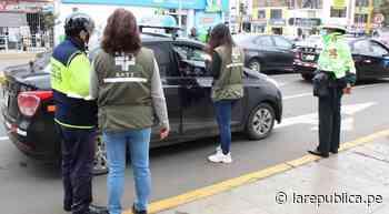 Trujillo: intervienen a 23 vehículos durante operativo - LaRepública.pe