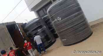 Trujillo: entregarán tanques de agua en 32 zonas de extrema pobreza - LaRepública.pe