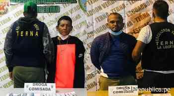 Policía captura a dos vendedores de drogas en Trujillo - LaRepública.pe