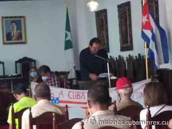 Condenan el bloqueo cubanos residentes en el estado venezolano de Trujillo - Ministerio de Relaciones Exteriores Cubano