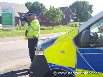 Herefordshire speeders beware - Hereford Times
