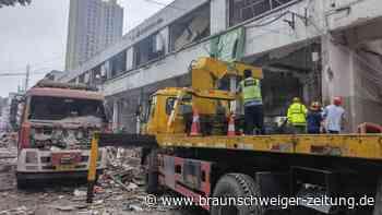 Explosion auf einem Markt tötet zwölf Menschen in China