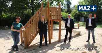 Falkensee: Ein neuer Spielplatz für das Wohngebiet Falkenhöh - Märkische Allgemeine Zeitung