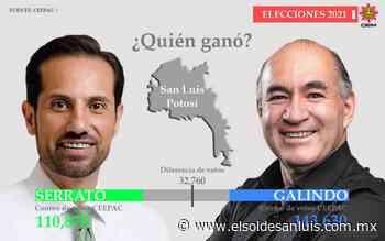 Enrique Galindo es alcalde municipal electo - El Sol de San Luis