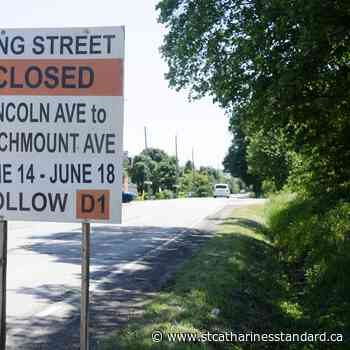 Portion of King Street in Beamsville to temporarily close next week - StCatharinesStandard.ca