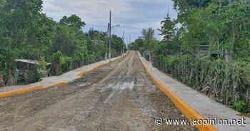 En Tihuatlán llega el progreso a más comunidades - La Opinión