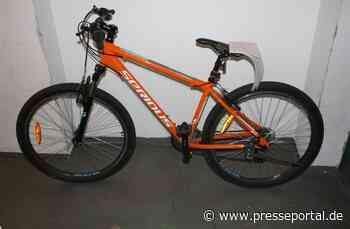 POL-WAF: Ahlen. Besitzer eines Mountainbikes gesucht - Presseportal.de