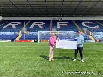 Fans give cash boost to Raith Rovers and Kirkcaldy Foodbank - Fife Today