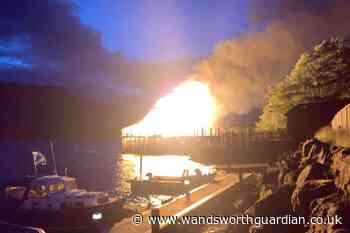 Recreated Iron Age roundhouse gutted by fire overnight - Wandsworth Guardian