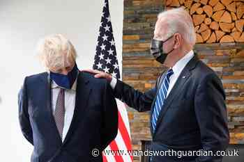 Transcript of Johnson's pool clip following meeting with Biden - Wandsworth Guardian