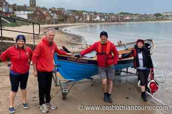 North Berwick's coastal rowers on the water after lockdown - East Lothian Courier