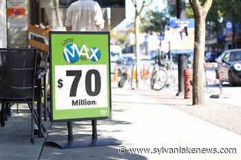 No winning ticket for Friday's $70 million Lotto Max jackpot - Sylvan Lake News
