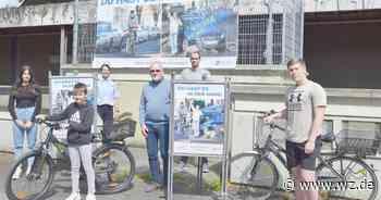 In Nettetal appelliert die Polizei: Beim Radfahren kein Handy benutzen - Westdeutsche Zeitung
