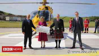 Helipad in memory of Covid paramedic officially opens
