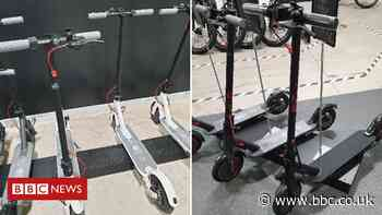 E-scooters worth £100,000 stolen in raid