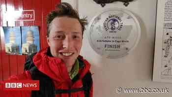 Record-breaking hiker's agony at 16-mile walk for bus home