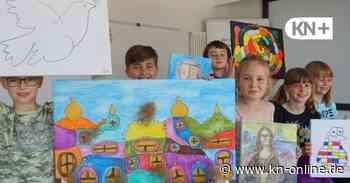 Hortgruppe Wölfe der Kita Schulstraße Henstedt-Ulzburg startet Kunstprojekt - Kieler Nachrichten
