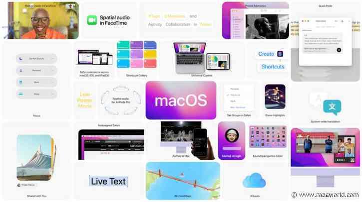 macOS Monterey: Universal control, Shortcuts, Safari, and more