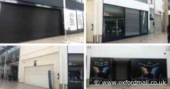 Banbury's Castle Quay shopping centre has 18 empty units