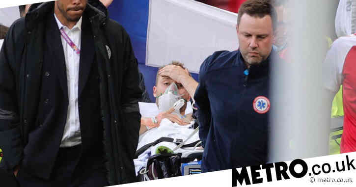 Christian Eriksen 'stable' and sends greetings to Denmark teammates from hospital