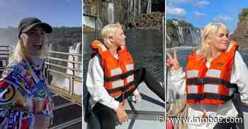 Las vacaciones de Lali Espósito en Cataratas del Iguazú ¿con David Victori? - infobae