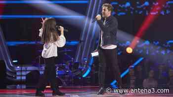 David Bisbal canta 'Todo es posible' con Candela Camacho en las Audiciones a ciegas de 'La Voz Kids' - Antena 3