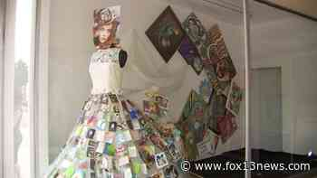 City leaders hope fashionable art exhibit attracts businesses to downtown Clearwater - FOX 13 Tampa Bay