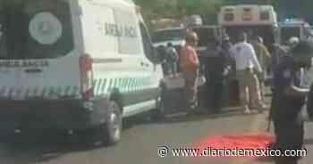 Camión cae al fondo de barranca en Tuxtla Gutiérrez; hay 23 lesionados - Diario de México
