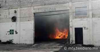 Monterrey. Se incendia bodega en la colonia Bella Vista - Telediario Monterrey
